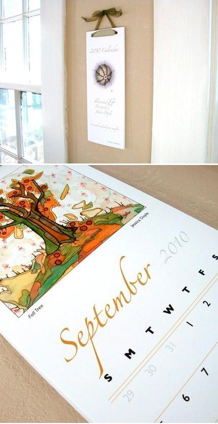 Jessica Doyle Illustrated 2010 Calendar