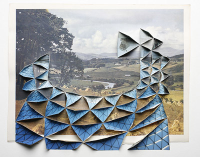 Abigail Reynolds Cut and Tile Paper Art