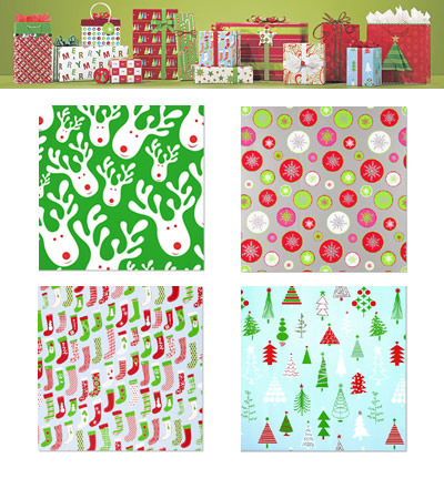 The Container Store Gift Wrap Wonderland