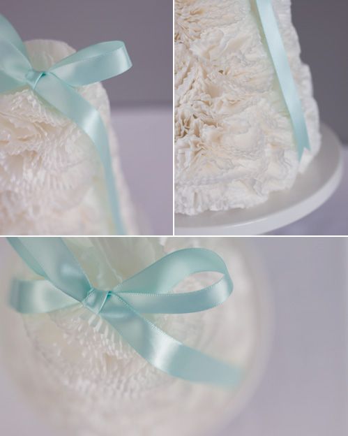 Cupcake Liner Flower Tree Detail