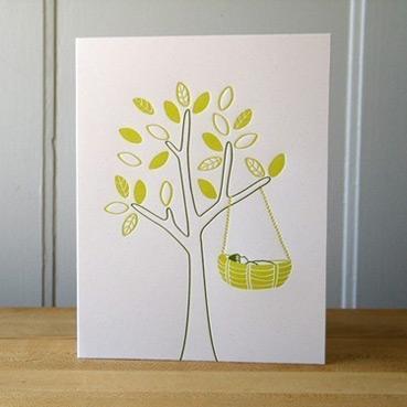 Sweetbeets Letterpress Card