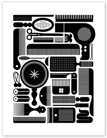 Eight Hour Day Screen Print