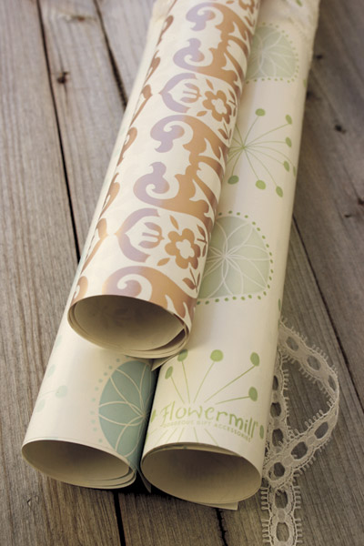 Flowermill Gift Wrap