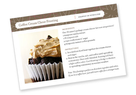 Coffee Cream Cheese Frosting
