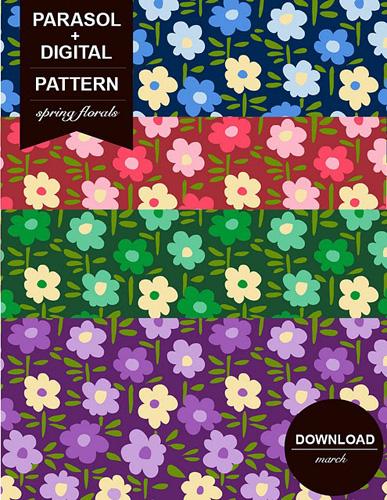 Free Printable 12x12 Florals