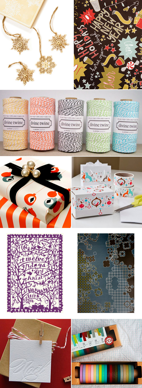 Gift Wrap Holiday Gift Guide
