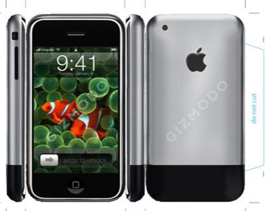 Apple iPhone Paper Craft