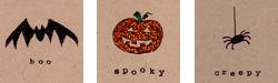 glamscience Glittery Halloween Cards