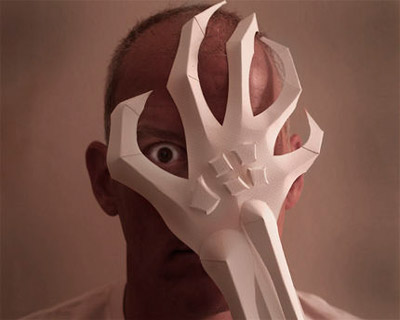 Paper Claw Mask