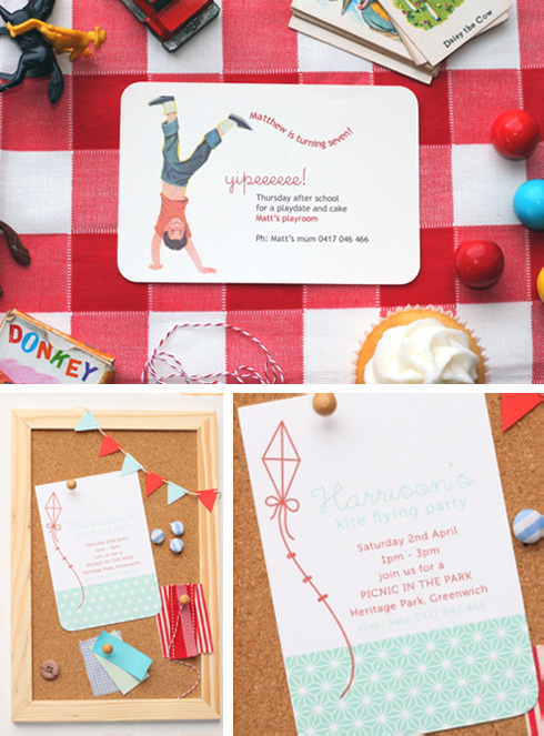 Imprintables Party Invitations and Supplies