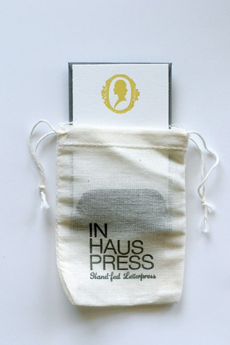 In Haus Letterpress Little Notes