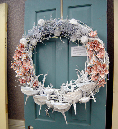 Nutcracker Paper Wreath