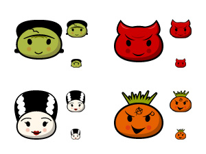 Kristen's Ghoulie Icons