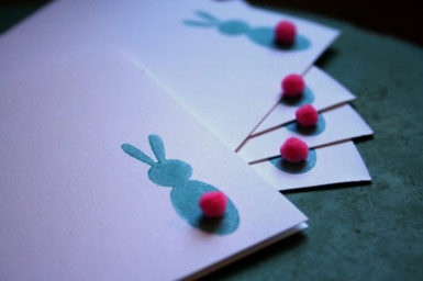 Laura Crow Bunny Cards