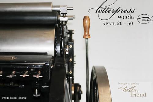 Letterpress Week