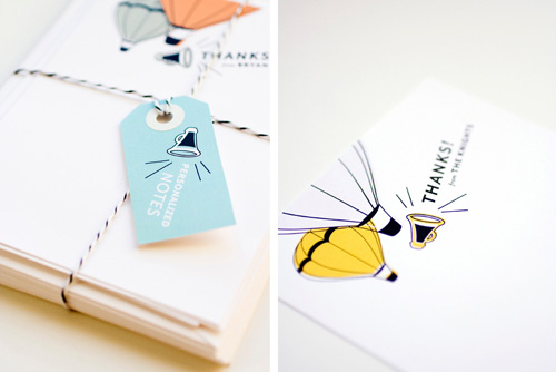 Personalized Megaphone Notes