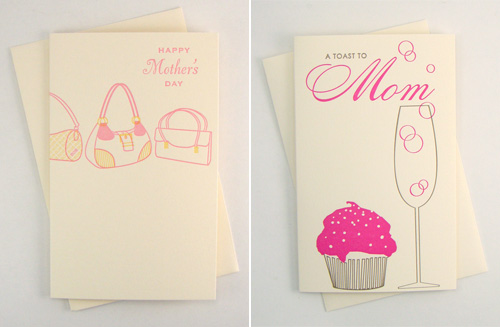 Snow & Graham Letterpress Mother's Day Cards