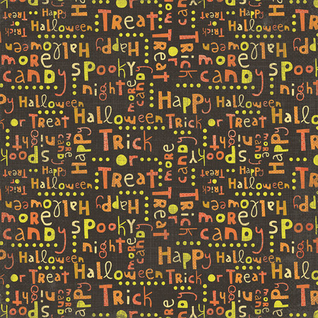 My Mind's Eye Blackbird Halloween Words