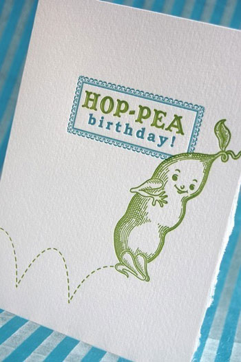 Pup & Pony Letterpress Cards