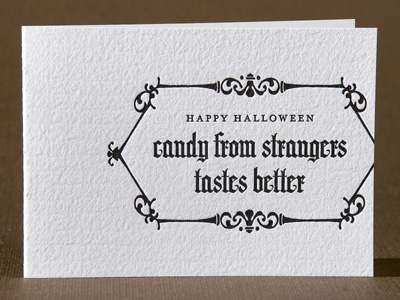 Spark Letterpress Halloween