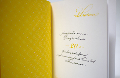 Modern Storybook Wedding Invitations
