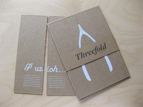 Threefold Collective Wishbone Card