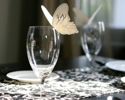 Timeless Paper Handmade Place Cards