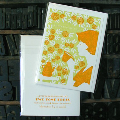 Two Tone Press Letterpress Cards