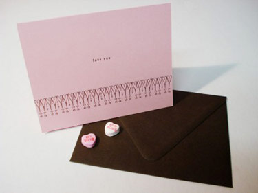 Bellis Studios Valentine Card