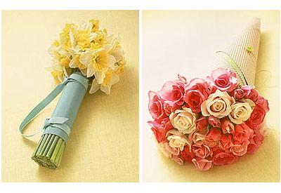 Martha Stewart Wrapped Flowers