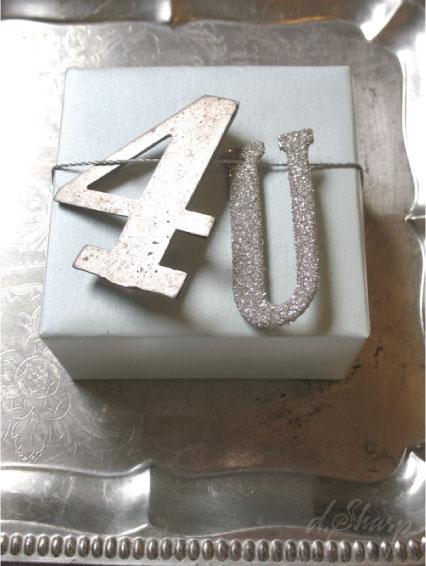 Silver Glitter Package