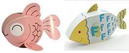 Cute Papercraft Fish ^_^