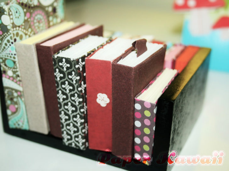 Learn how to make a cute little origami book!