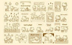 fonds-decran-Hello Kitty HD