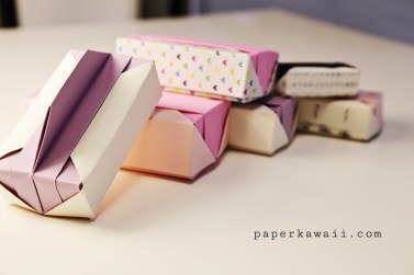 Origami Gift Box   Tutorial Video