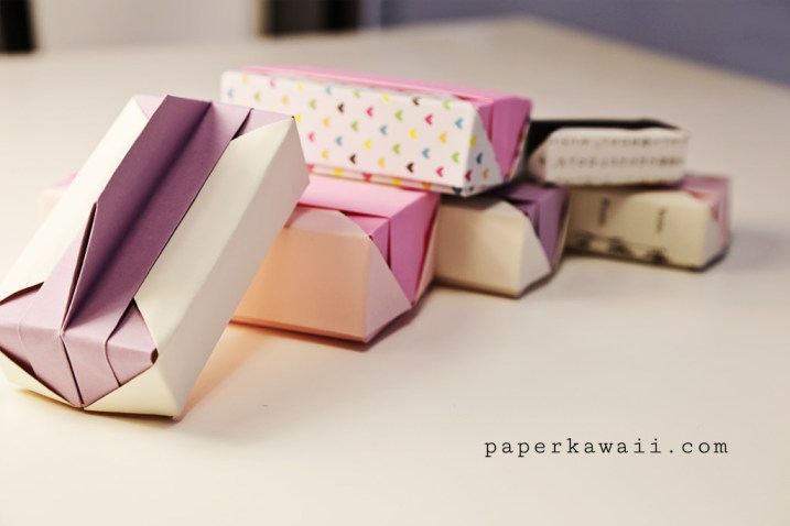 Origami gift box bunch paperkawaii