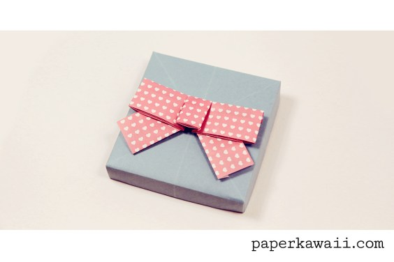 Cute Origami Bow Video Tutorial