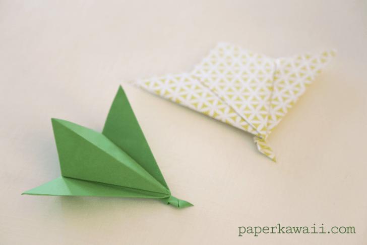 Origami Leaf Tutorial