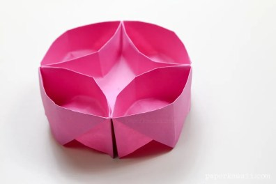 Origami Lazy Susan Instructions