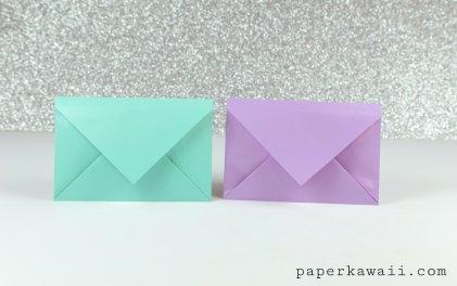 Simple Origami Envelope Video Tutorial