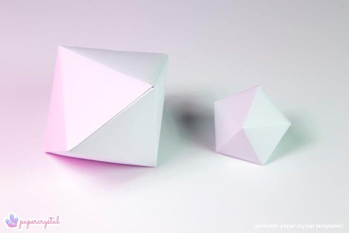 paper-crystal-printable-gem-templates-dipyramid