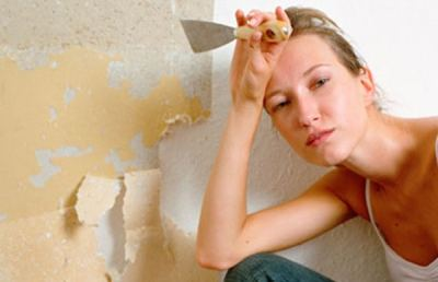 Removing Wallpaper, Part 2 - To Remove, or Not to Remove! by Paper Moon Painting, Your San ...