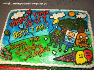 Adventure Time in cake form!