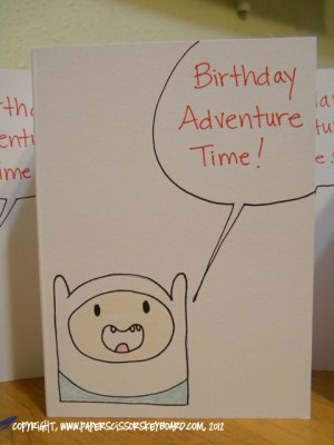 Finn The Human wants to party with you!