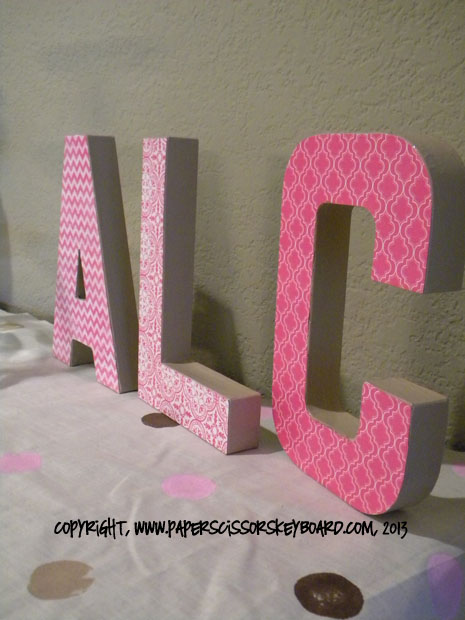 Paper Letters
