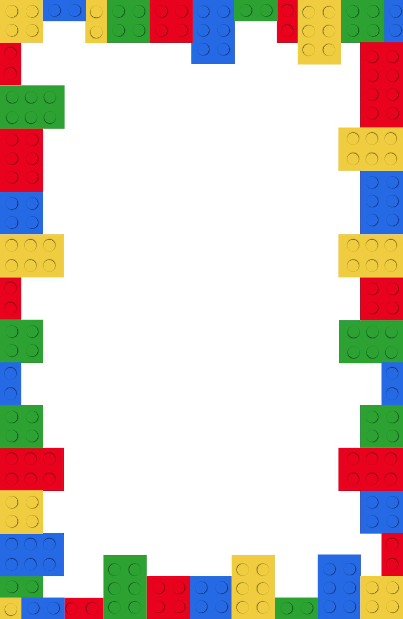 Fullsize Of Lego Birthday Invitations