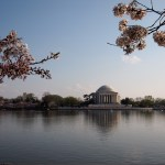 DC Thomas Jefferson Memorial przy Tidal Basin