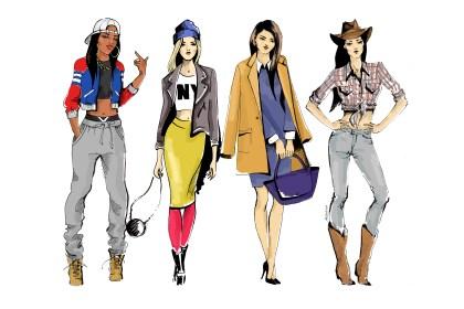 Jak ubiera się Amerykanka? - wycieczka po strojach i ubiorach USA