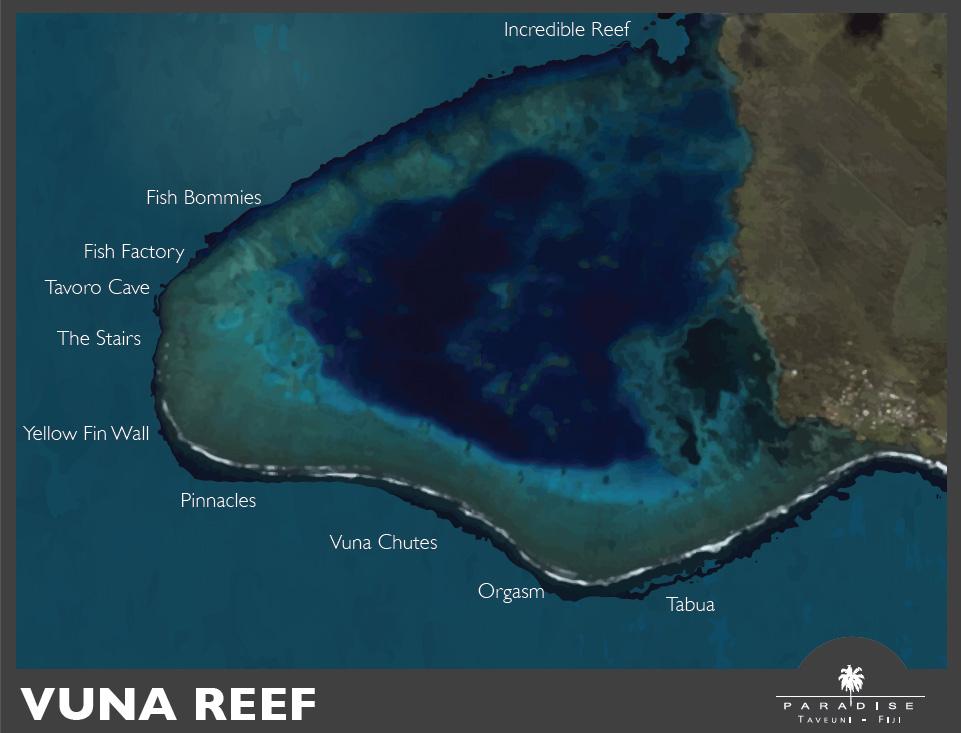 Paradise Taveuni - Vuna Reef Dive Sites