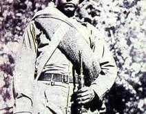 Chacoré: soldado desconocido